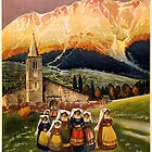 Vintage Travel Poster to Abruzzo by Chris L Smith