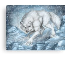 Snow Prowl Canvas Print
