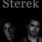 Sterek Typography  for Dark colors only by vegetasprincess