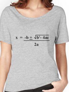 Quadratic Formula Funny Shirt Women's Relaxed Fit T-Shirt