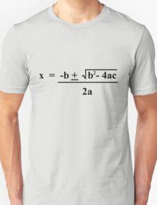 Quadratic Formula Funny Shirt T-Shirt