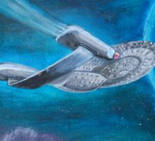 Enterpise D | Star Trek Sticker