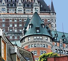 Fairmont Le Chateau Frontenac by Polly Peacock