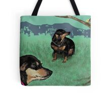 Winnie and Ding Tote Bag