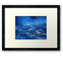 ©HCS Cloudscape Fog Tower Framed Print