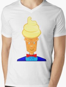 MISTER SOFTIE Mens V-Neck T-Shirt