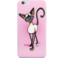 Siamese Crosswalk Girls Blush iPhone Case/Skin