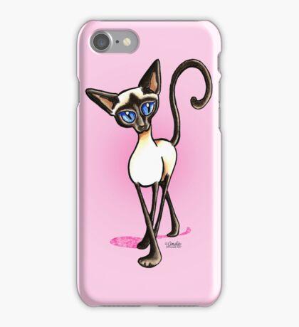 Siamese Crosswalk Girls Blush iPhone Case/Skin