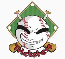 Tricksters Baseball Logo Kids Tee