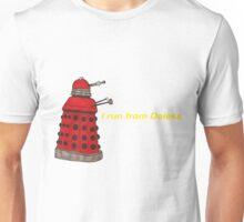 I run from Daleks Unisex T-Shirt