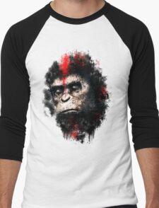 Apes Painting Men's Baseball ¾ T-Shirt