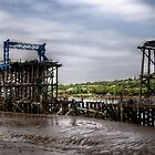 Dunston Staithes Fire Damage by Andrew Pounder