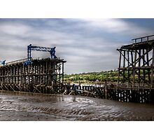 Dunston Staithes Fire Damage Photographic Print