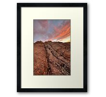 Sunset Slide Framed Print