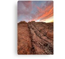 Sunset Slide Canvas Print
