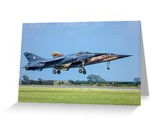 Dassault Mirage F.1C pair Greeting Card