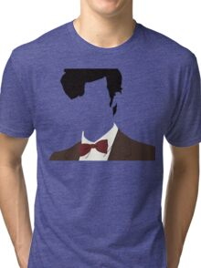 Faceless 11th Doctor Tri-blend T-Shirt