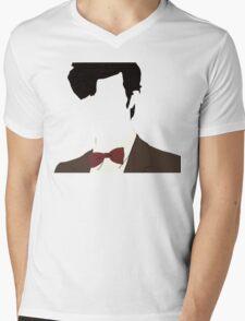 Faceless 11th Doctor Mens V-Neck T-Shirt
