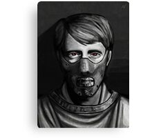 Hannibal - Masks Canvas Print