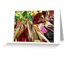 Abstract 3940 Greeting Card