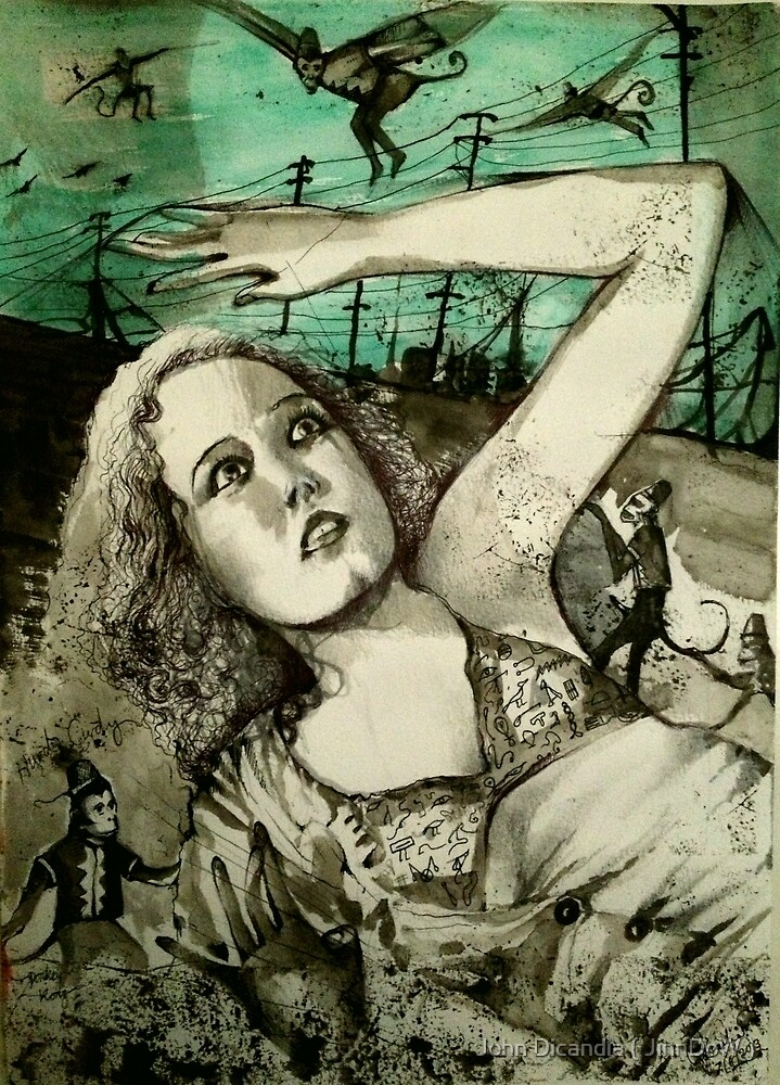 Fay Wrays Origin Of Species  by John Dicandia ( JinnDoW )