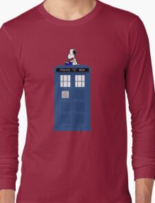 Snoopy Doctor Who Long Sleeve T-Shirt