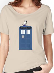 Snoopy Doctor Who Women's Relaxed Fit T-Shirt