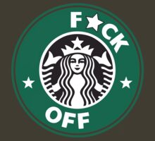 Starbucks Logo Spoof - F*CK OFF (CENSORED) by Oscar Wong