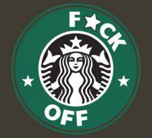 Starbucks Logo - F*CK OFF  by Oscar Wong