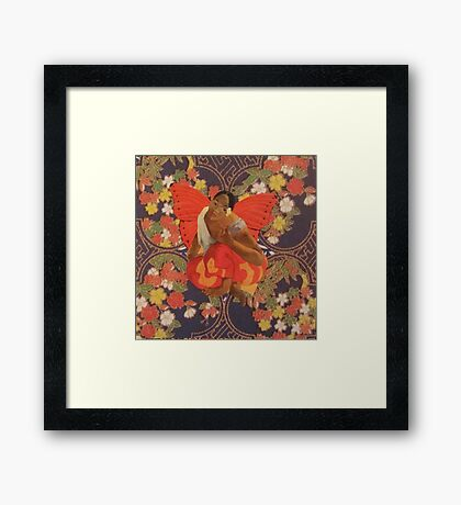 A Beautiful Strong Woman Just Flew By Framed Print