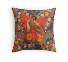 A Beautiful Strong Woman Just Flew By Throw Pillow