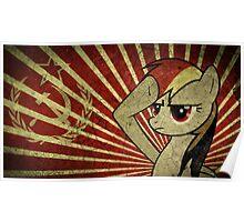Pony communist Poster