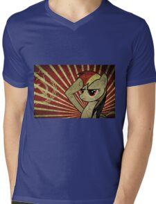Pony communist Mens V-Neck T-Shirt