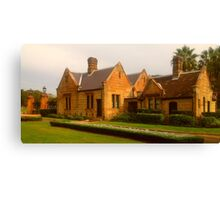 The Gardeners Cottage Canvas Print