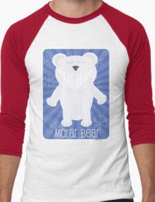 Molar Bear Men's Baseball ¾ T-Shirt