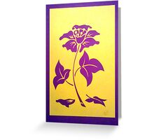 Dream Flower Greeting Card