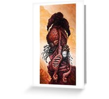 The Mutant Bloom  Version 2  Greeting Card