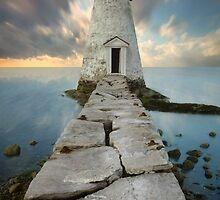 Palmer Island Lighthouse by jswolfphoto