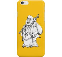 Friendly Buddha wanderer iPhone Case/Skin