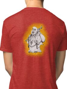 Friendly Buddha wanderer Tri-blend T-Shirt
