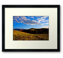 Dark Ravine Framed Print