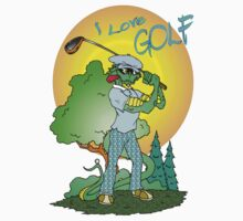 I love Golf by Skree