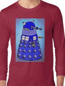 Dalek Tardis Long Sleeve T-Shirt