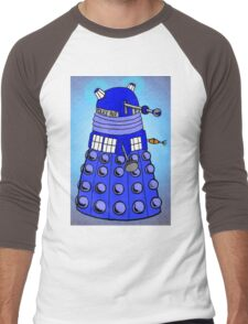 Dalek Tardis Men's Baseball ¾ T-Shirt