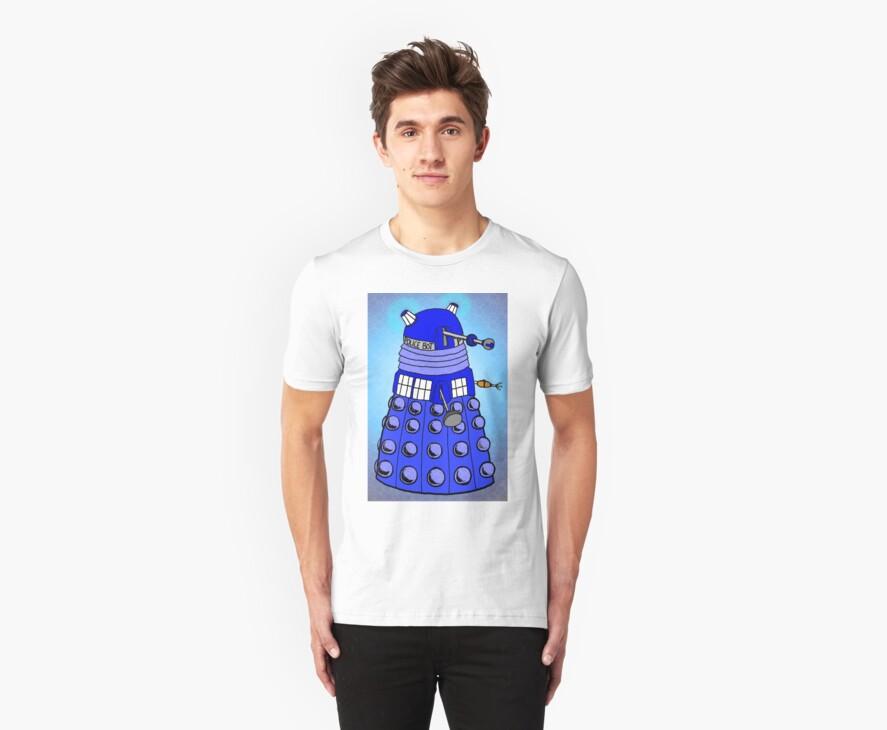 Dalek Tardis by Skree