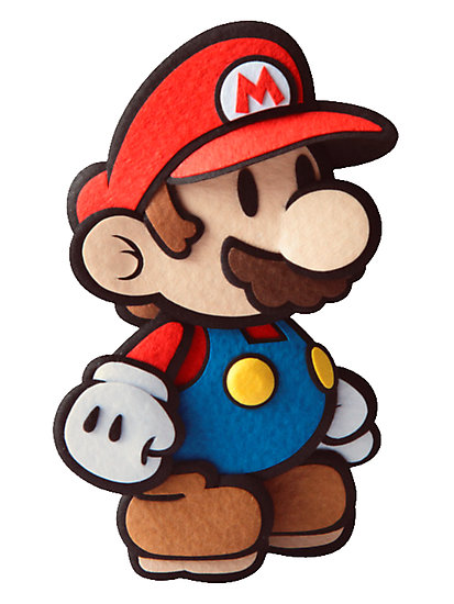 Paper Mario by thevillain