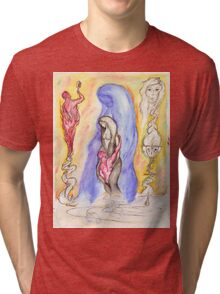 A Void's Reflection Tri-blend T-Shirt