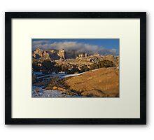 The Golden Light Framed Print