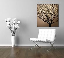 "30""x30"" Today Tree by lightologie"