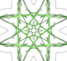 Emerald Weave Sticker